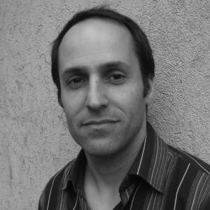 Black and White Headshot of Adam Sadowski